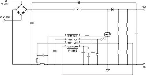 Схема включения IR1155S