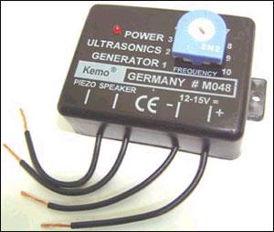 kit ультразвуковой отпугиватель