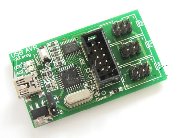 USB AVR mkII внутрисхемный