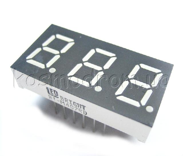 TD-04 Количество цифр: 3. Цвета: G. Схема управления: MCA.