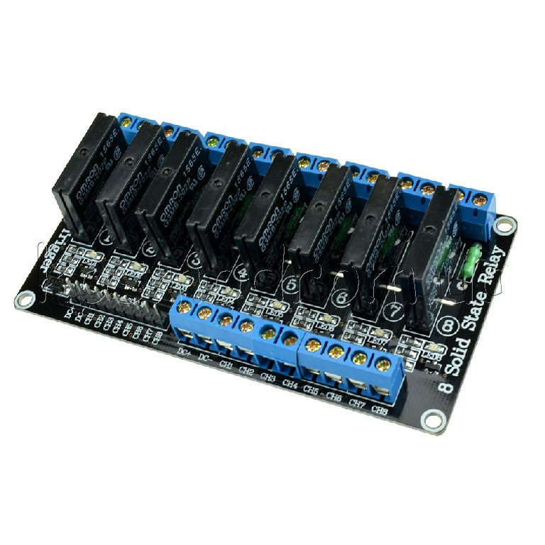 8 Channel 5V Solid State Relay