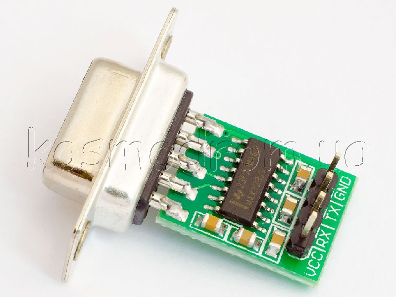 на микросхеме MAX3232 с