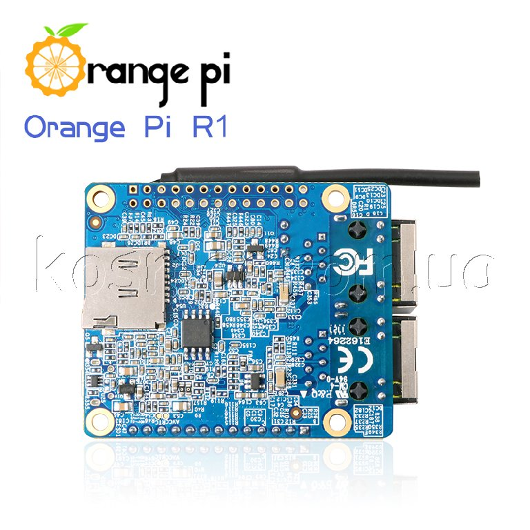 Orange Pi R1 H2 Quad Core Cortex-A7 Open-source 256MB DDR3 GPU//600MHz RJ45 Board