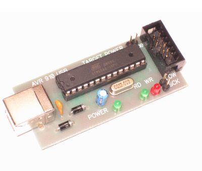 Я шил 5ю проводками в LPT AVR, даже без резисторов и диодов.