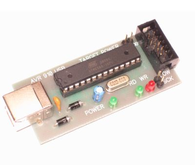 AVR programmer USB Программатор микроконтроллеров AVR совместимый с...